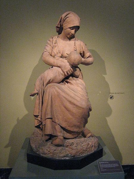 450px-BLW_Peasant_Woman_Nursing_a_Baby